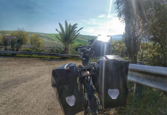 Fahrrad Taschen Fahrradtaschen Richtung Palermo