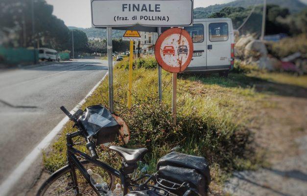 Finale Ortsschild Italien Fahrrad Radreisen Tour