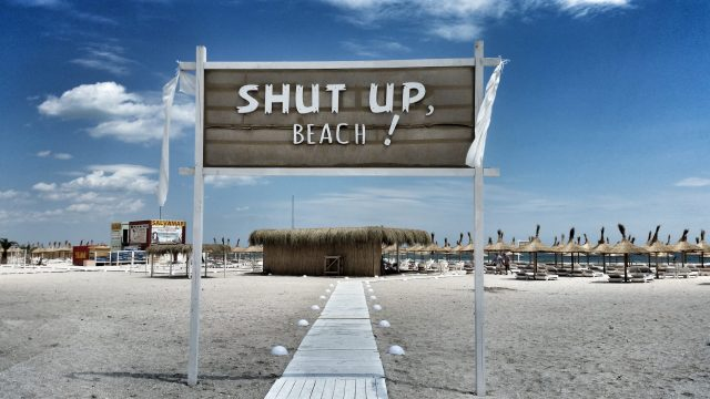 Strand Constanta Mamaia Beach Shut Up Beach