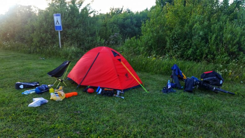 Estland RMK Ausschilderung Campingplatz Zeltplatz günstig umsonst campen Fahrrad Fahren Radreisen