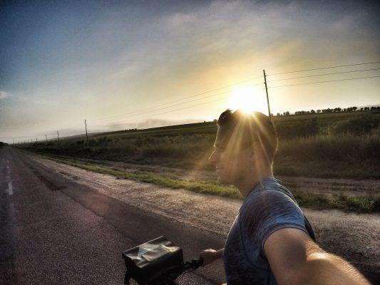 Moldawien Fahrrad Tour morgens