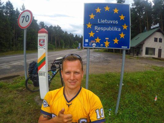 Kuhrische Nehrung Fahrrad Radreisen Litauen Eurovelo 10 Grenze