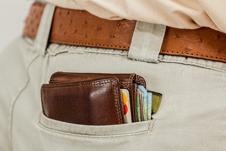 Geldbeutel Reisen Kreditkarte Geld